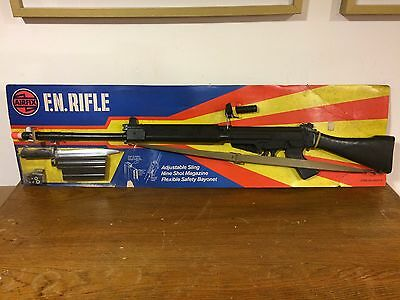 Vintage Very Rare  Airfix F.n. Fn Rifle Toy New 60´s