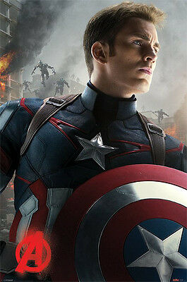 Avengers Age of Ultron Poster Pack Captain America 61 x 91 cm (5) Pyramid The