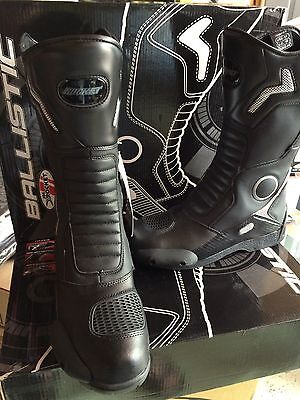 Joe Rocket Ballistic Touring  Motorcycle Leather Boots Mens Size 12