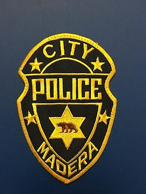 Madera City California  Police   Shoulder Patch