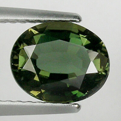 1.74 ct  AMAZING VERY RARE GEM ! GORGEOUS  NATURAL KORNERUPINE  OVAL  !