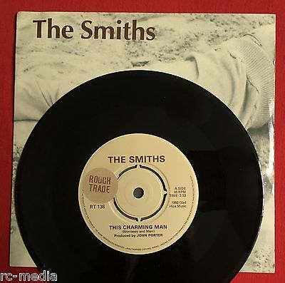 "THE SMITHS -This Charming Man- Orig UK 7"" Stickered labels +Pic Sleeve (Vinyl)"