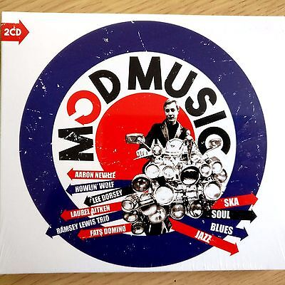 2CD NEW SEALED - MOD MUSIC - Ska Soul Blues Pop 60's Music 2x CD Album & Booklet