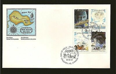 Canada Canadian Folklore 1991 FDC #1334-1337