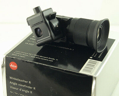 LEICA ANGLE FINDER R 14 300, Winkelsucher, 1x, 2x f/ LEICA R SLR. Boxed.