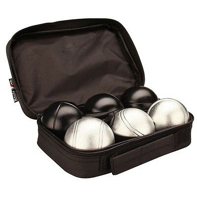 NEW Get & Go Pétanque Set Chrome/Navy Blue 52JL Chrome Plated Steel in Carry Bag