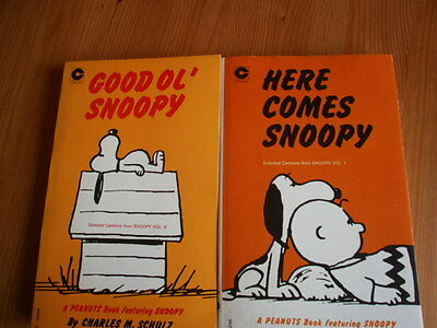 Peanuts -Set Of Two - Good Ol' --Here Comes -Snoopy