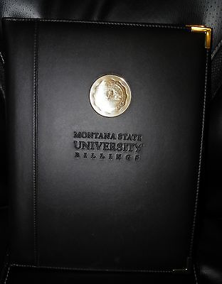 Montana State University Billings Four Point Note Book Portfolio