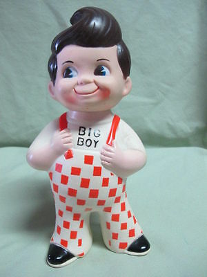 "Vintage Bob's BIG BOY Doll Bank 9"" Marriott Corp. 1973"