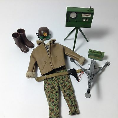 Vintage 1960's Palitoy Action Man Uniform (100% Original) Armoured Car Commander