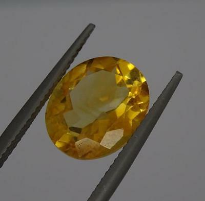 ***Beautiful Natural 4.4ct Citrine Faceted Oval Cut Gemstone***