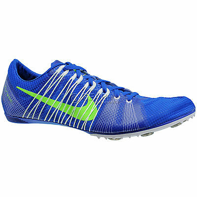New $120 Nike Zoom Victory 2 Mens Track & Field Spikes Distance Shoes - Blue