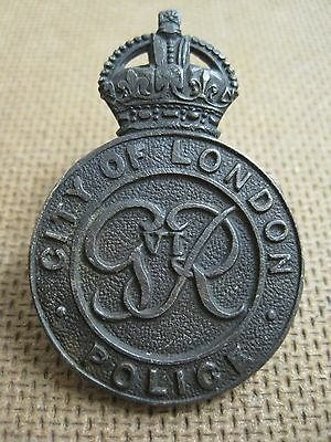 Obsolete City Of London Police Night Cap Badge
