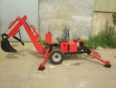 New Mini Backhoe Mini Excavator Trench Digger Free Shipped By Sea