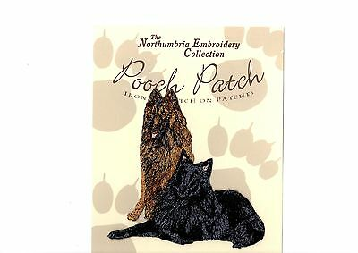 Belgian Shepherds EMBROIDERED  Pooch Patch