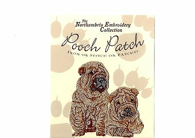Sharpei  EMBROIDERED  Pooch Patch