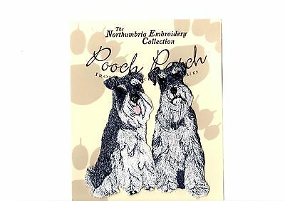 Schnauzers   EMBROIDERED  Pooch Patch
