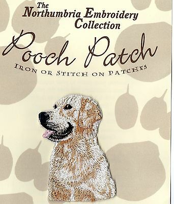 Golden Retriever EMBROIDERED Pooch Patch