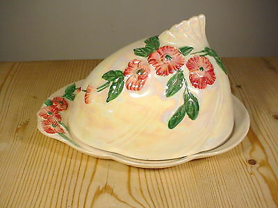 Maling Lustre Apple Blossom Cheese Dish 6584