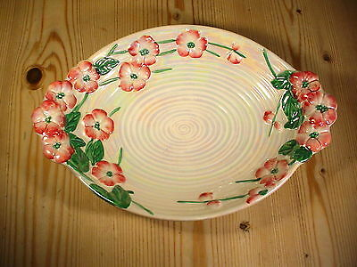Maling Lustre Apple Blossom Oval Bowl 6584