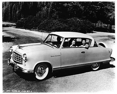 1955 Nash Rambler ORIGINAL Factory Photo oad7968-7Q9RNN