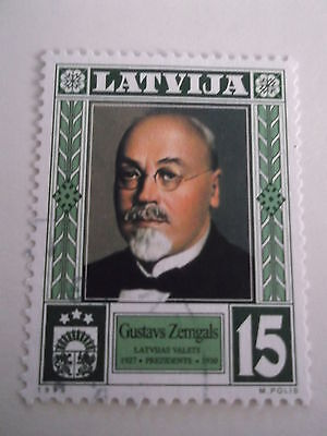 1999 Latvia Presidents used sg531