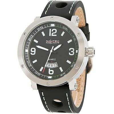 Nautec No Limit Shamal Quarz Herrenuhr SM QZ3/LTSTBK-GR