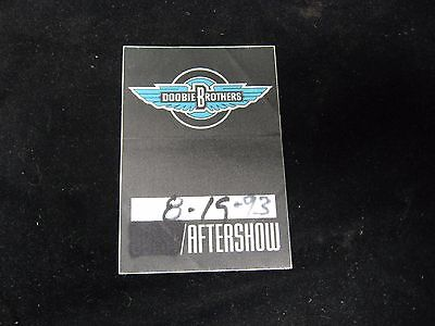 1993 DOOBIE BROTHERS After Show Pass Aftershow