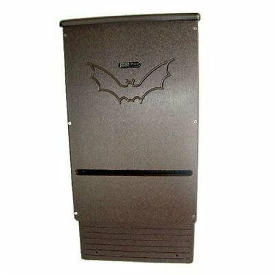 Birds Choice Recycled Bat House Snbh Brown Poly Lumber