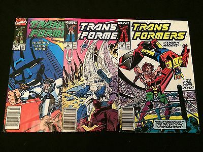 Transformers #55, 56, 68