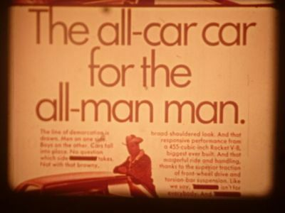 Rare vintage 16mm advertising film THE BUY LINE early 1970s marketing insight