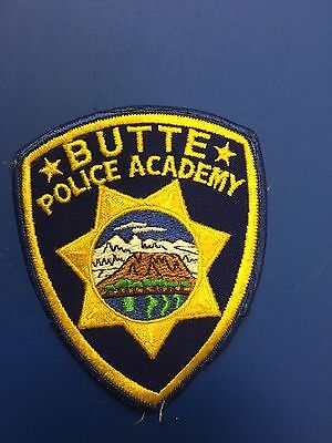 Butte Police Academy   Shoulder Patch    Used