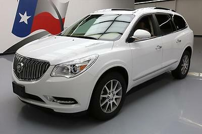 2016 Buick Enclave  2016 BUICK ENCLAVE LEATHER DUAL SUNROOF REAR CAM 27K MI #270394 Texas Direct