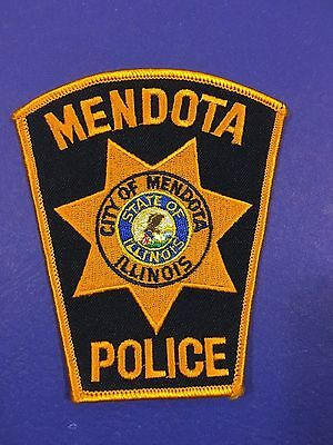 Mendota Illinois  Police  Shoulder Patch