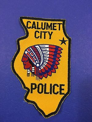Calumet  Illinois  Police  Shoulder Patch