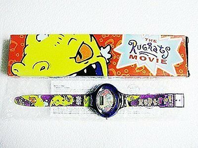 1998 The RugRats Movie Reptar Watch New  in original box