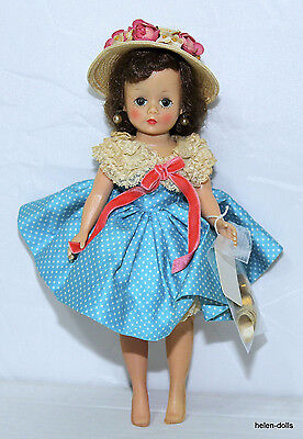 1950's CISSETTE - 10 IN. COMPLETE WITH OUTFIT & GOLD HIGH HEEL SHOES - ALEXANDER