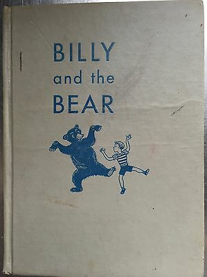 """Very Rare 1949 First Edition Of """"billy And The Bear""""- Early Laura Bannon Book!"""