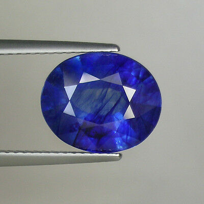 4.76 ct  RARE LOWEST PRICE  NATURAL BLUE SAPPHIRE OVAL CUT  # 1170
