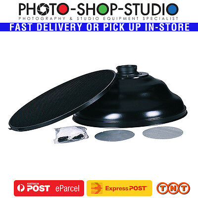 Fotolux Beauty Dish 58cm Wave with Elinchrom Mount #WBD580-E SILVER interior
