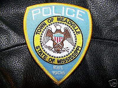 Meadville, Ms Police Patch