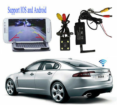 P2P 30fps Realtime Video Transmitter WIFI Car Backup/Reverse Rearview FPV System