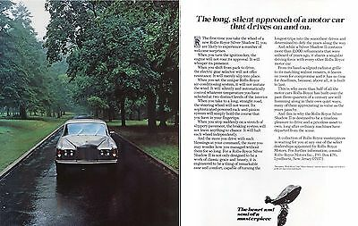 The long silent approach of a Rolls-Royce ad 1979 1980