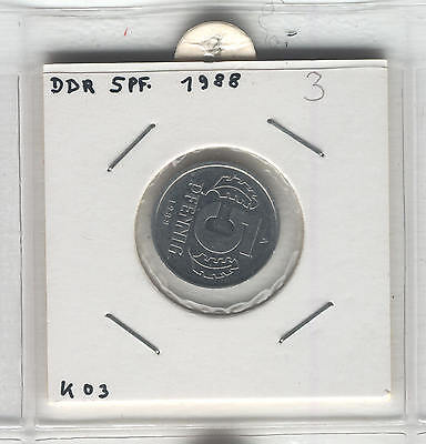 J Coins E71 Germany 1988 Value 5 Pfennig