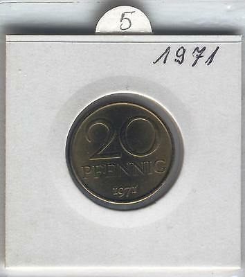 J Coins E75 Germany 1971 Value 20 Pfennig