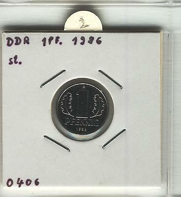 J Coins E35 Germany 1986 Value 1 Pfennig