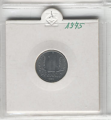 J Coins E25 Germany 1975 Value 1 Pfennig