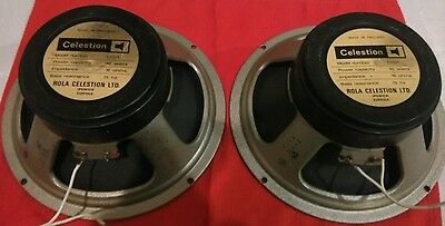 Celestion Blackback G12H 30watt T 1976 speakers