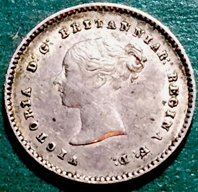 GB . QV . 1838 . Twopence  . Maundy Nice Coin.