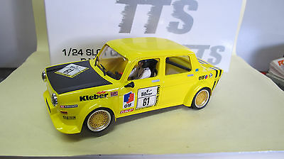 BRM 1:24 Slot Car   Simca 1000   N° 61  in gelb  Ref.  BRT 01